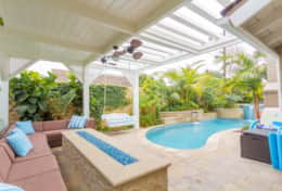 Dream Home Walk to Sand & Sea + Heated Pool & Spa