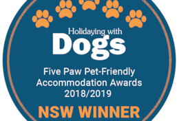 Holidaying with Dogs NSW Winner