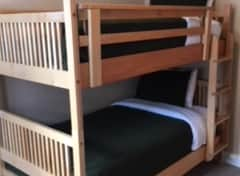 Bunk beds in private  room
