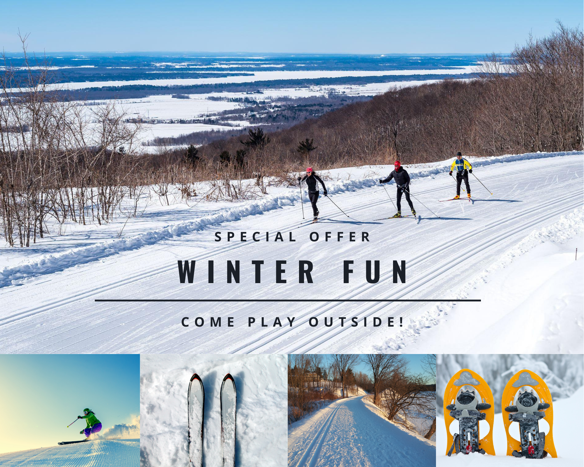 Auberge Tom B&B - Special Offer - Winter fun in Chelsea and Ottawa