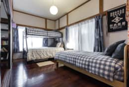 Sleeping arrangements |Samurai House Tokyo Family Stays |Spacious