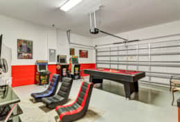 This game room won't disappoint! Play this one of a kind vintage arcades