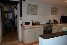 There are two fully equipped kitchens - kitchen 2