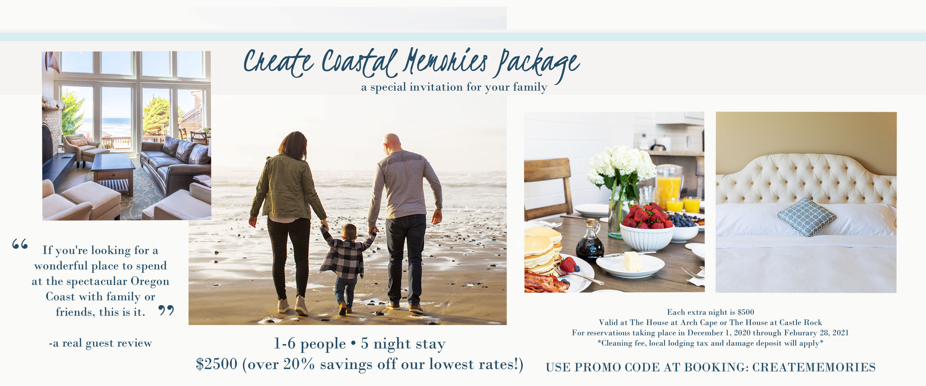 Create Coastal Memories Package