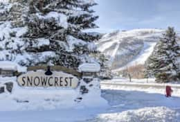 snowcrest - perfect location just across the street  from Park city resort!