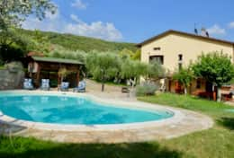 Villa Casalini with private pool