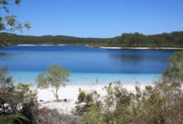 Lake McKenzie is stunning