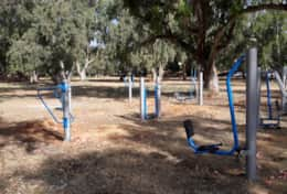 Outdoor Gym in Agioi Apostoli Park