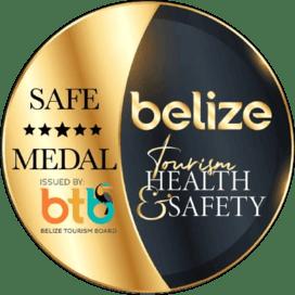 Belize Tourism Health & Safety Gold Standard Certified