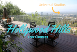 Top of Hollywood Hills Luxury Flat for 2