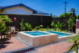 Jacuzzi-pool for your outdoor entertainment