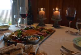 Romantic dining for two, relaxed meals with family or group dinners either way its enjoyable