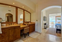 MASTER BATHROOM #2. UPSTAIRS. Beachfront Private Villa Vacation Rentals Los Cabos