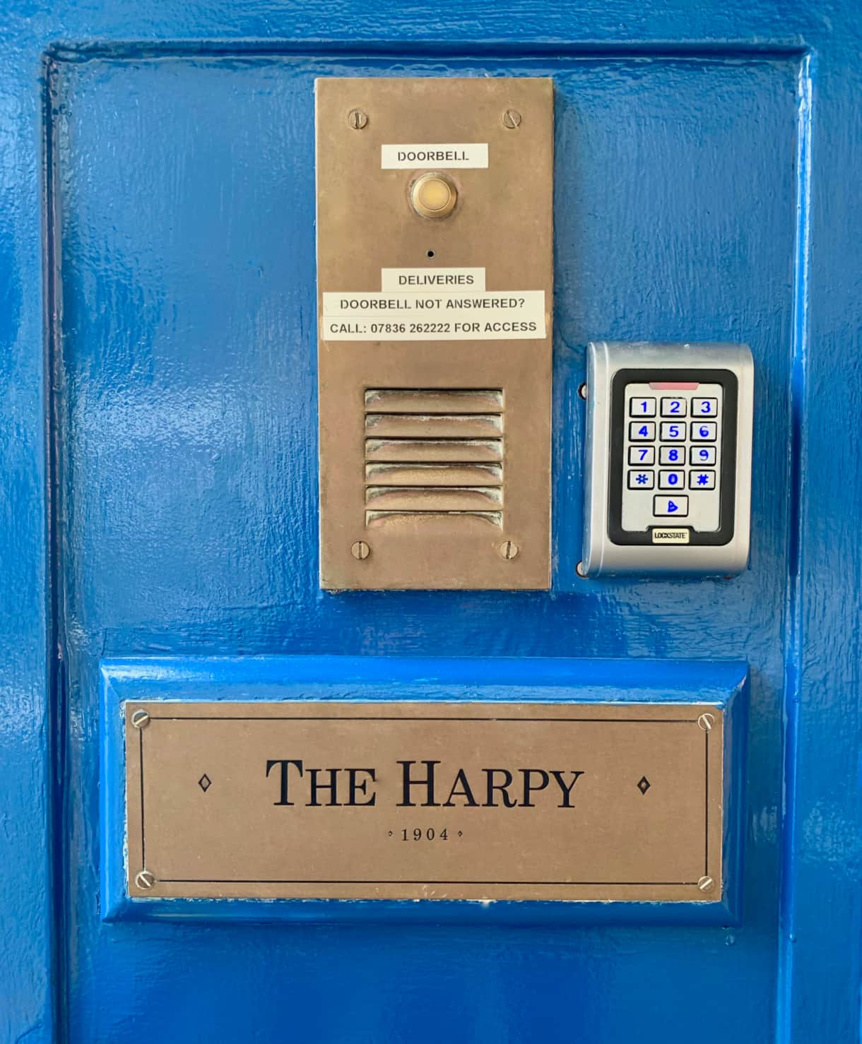 The Harpy wi-fi enabled entryphone
