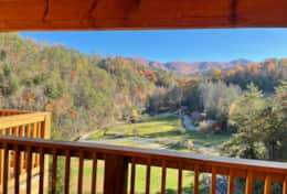 deck view in November