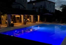 Swimming Pool 1 at night