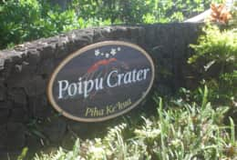 Welcome to Poipu Crater