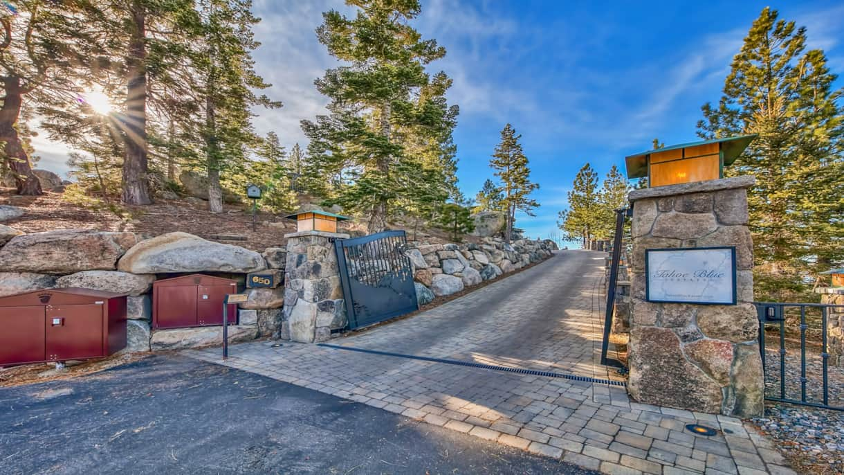 Gated entry for a truly private stay!