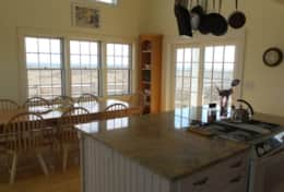 Kitchen & Dining Room with 180 view of ocean