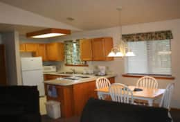 cabin 15 kitchen and dining