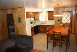 cabin 3 fully functional kitchen
