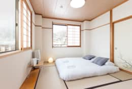 Nozawa Peaks twin room with private toilet and view