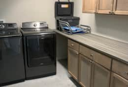 Laundry Room w/ Full Size Washer & Dryer