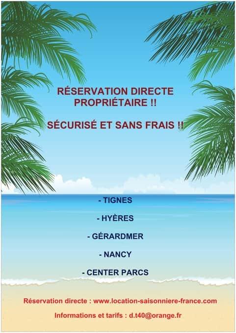 RÉSERVATION DIRECT PROPRIÉTAIRE, DIRECT, SÉCURISÉ, SANS FRAIS