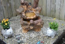 Our water feature