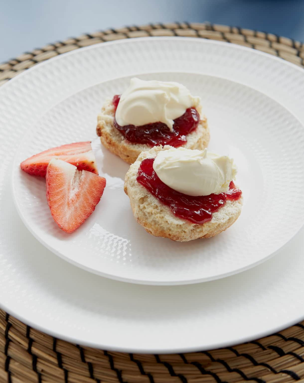 Cream Tea - Poachers Pocket - Boutique Luxury Holiday Cottage - Cornwall - Hellandbridge