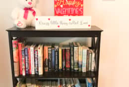 Book Shelf Happy Valentines Day! Lynette's Guest House
