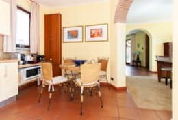 Villa Pascoli, kitchen