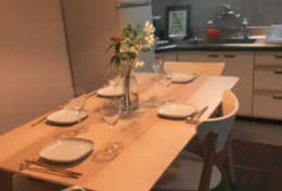 Dining option Shinjuku Family House| Tokyo Family Stays |Spacious |