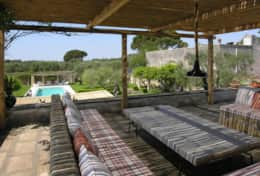 Casino Pisanelli - furnished terrace -Ruffano - Salento