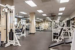 Free access to Fitness center