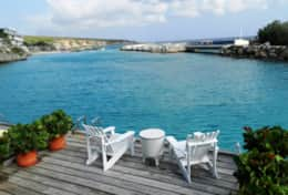 Curacao Ocean Resort Blue Lagoon - private deck over the water