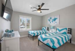 Twin Room #1 at The Turquoise House