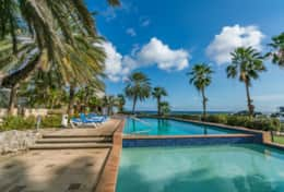 Curacao Ocean Resort Blue Lagoon - community pool with wading pool for children