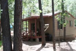 Nothwoods Cabins 5  1bd-1bth 700sf