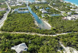 View of marina from above Coral Villa