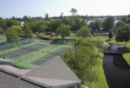 Myrtle Beach Resort Tennis courts  3