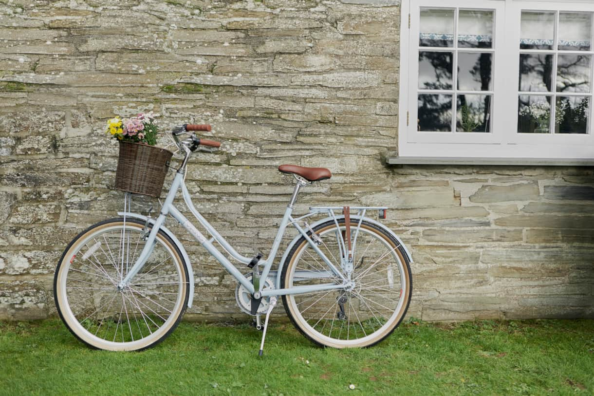 bikes - Poachers Pocket - Boutique Luxury Holiday Cottage - Cornwall - Hellandbridge