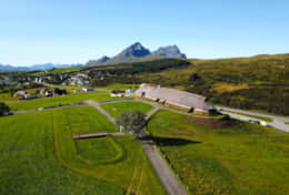 Viking museum Lofoten back