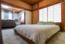 Bedroo  Gotanda House| Tokyo Family Stays |Spacious | Family Friendly