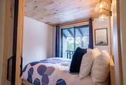 3rd bedroom has a double bed and is the smallest of the bedrooms.