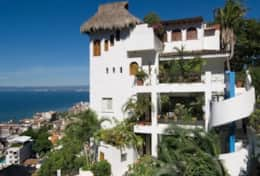 Casa Ventana comprises top  two floors of this tower
