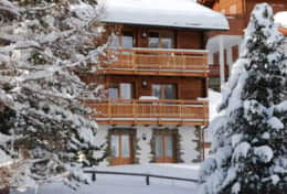 Chalet Daphne in Winter