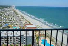 Renaissance Tower - Myrtle Beach Resort Balcony 3