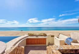 OUTSIDE KITCHEN and BBQ. Beachfront Private Villa Vacation Rentals Los Cabos