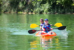 Kayaking and Canoes Available to Guests for Free